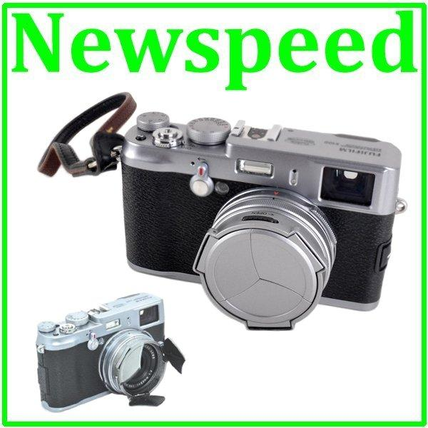 New Auto Lens Cap for FujiFilm Finepix X100 X100s Digital Camera