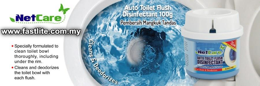 Auto Toilet Flush Disinfectant (Flush up to 600 times)