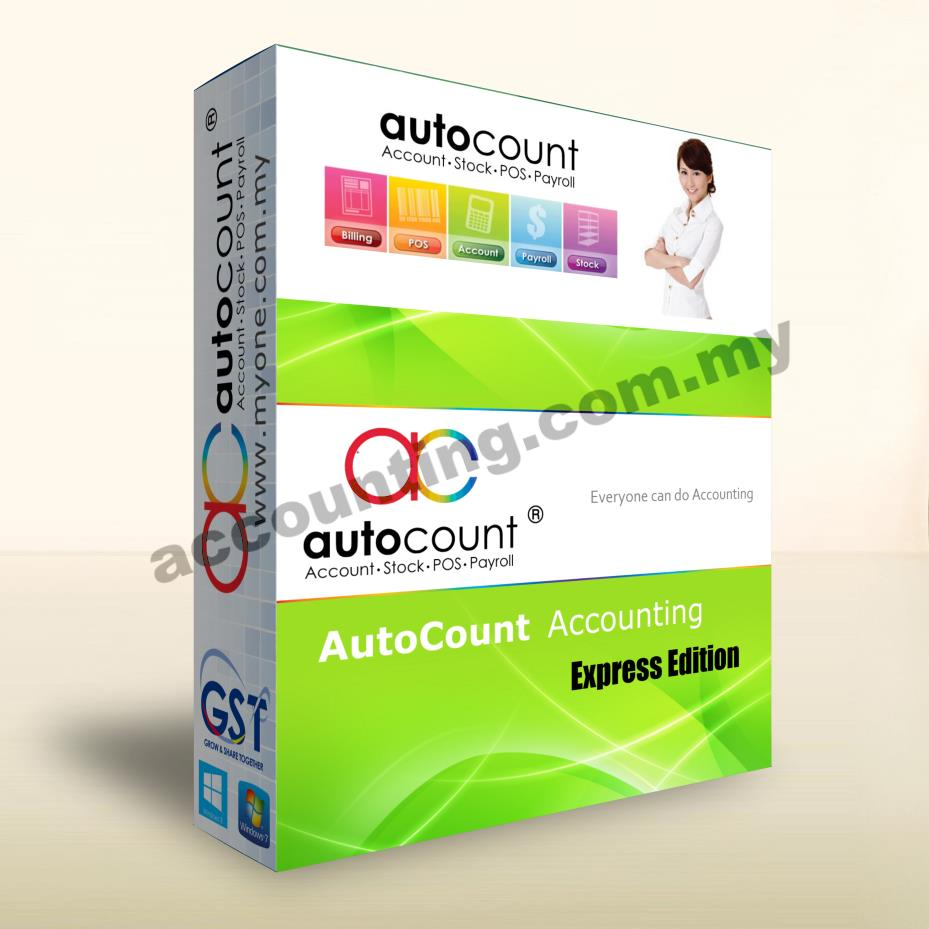 AutoCount Express Account