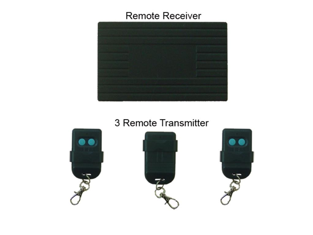 Autogate Remote Control with 3 x Remote and 1 x Receiver
