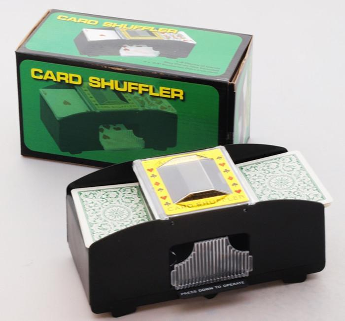 Automatic Card Shuffler Toy Toys Games Party Poker Cards Free Battery