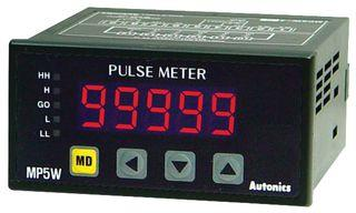 AUTONICS Pulse Meter MP5W-4N, LED, 5 Digits, 13 Modes