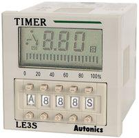 Autonics Timer LE3S, Digital, 10 Mode, Multi-range, SPDT Out