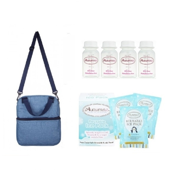 Autumnz POSH Cooler Bag Package - Oxfort Sky Blue
