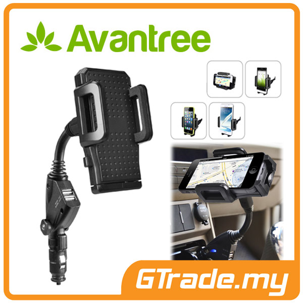 AVANTREE Car Charger Phone Holder Samsung Galaxy S7 S6 Edge S5 S4 S3