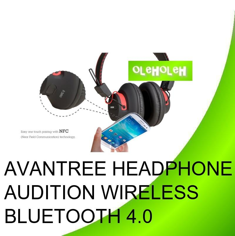 AVANTREE Headphone Audition Wireless Bluetooth 4.0 NFC Stereo Headset