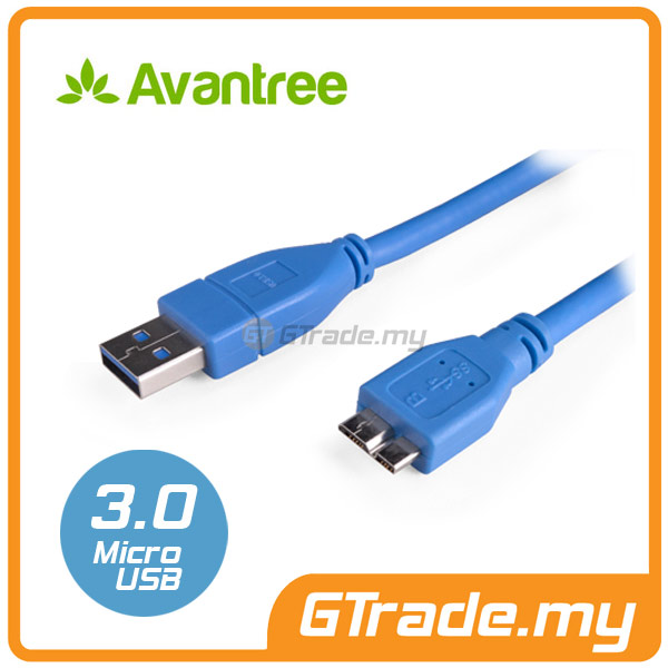 AVANTREE Micro USB 3.0 Sync Charger Cable | Samsung Galaxy Note 3 4 S5