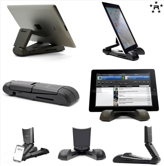 Avantree Universal Tablet Stand with Bluetooth Speaker - Standola
