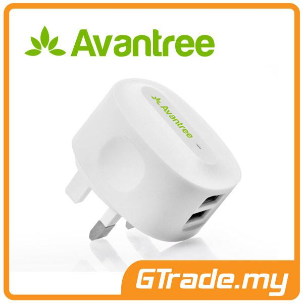 AVANTREE USB Charger 2.1A Samsung Galaxy S7 S6 Edge S5 S4 S3