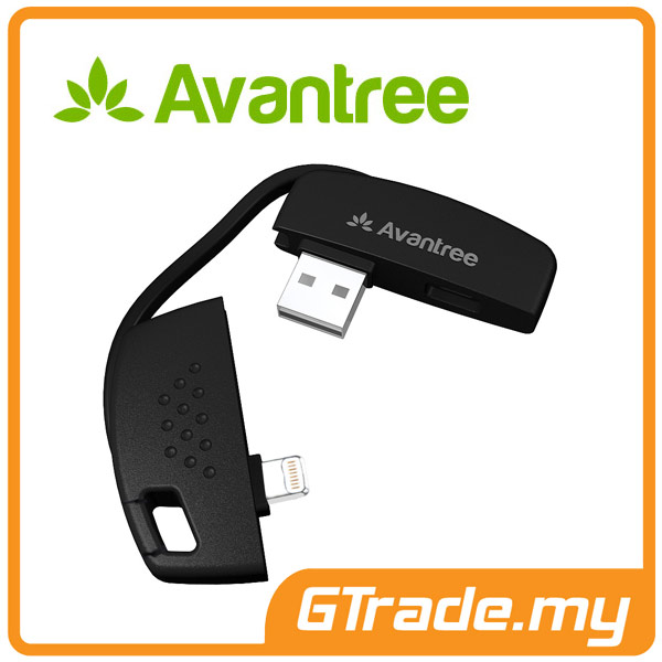 AVANTREE USB Lightning Cable Keychain Apple iPad Air Mini PRO 4 3 2 1