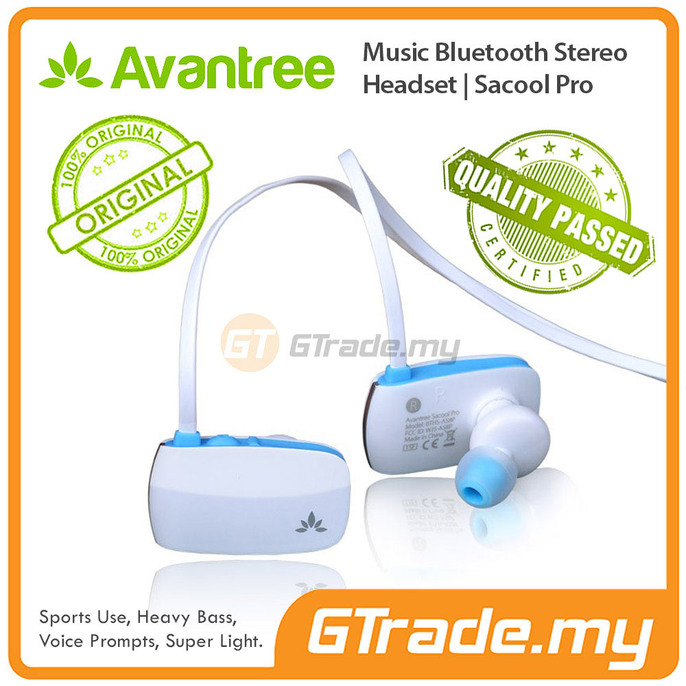 AVANTREE Wireless Bluetooth Headphones Headset aptX Sacool PRO Blue