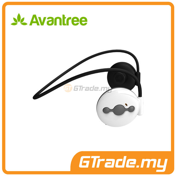 AVANTREE Wireless Bluetooth Headphones Headset Running JOGGER White