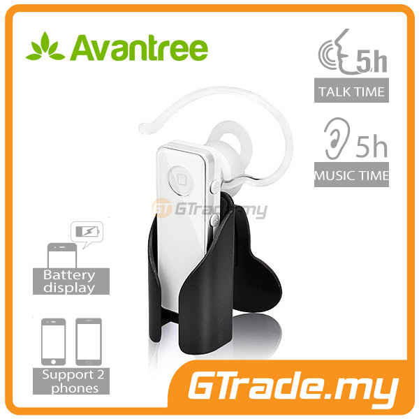 AVANTREE Wireless Bluetooth Headset Hands Free A2DP Clear Voice 5GS