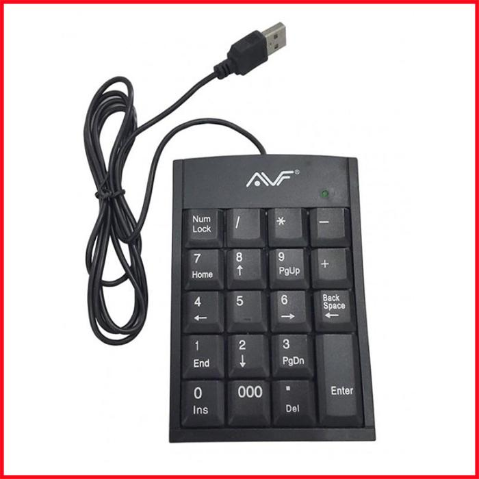 AVF Numeric Keypad Slim and Light for Windows with Kickstand
