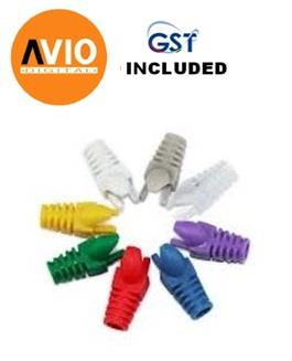 AVIO Coloured Rubber Boots for Cat6 cable