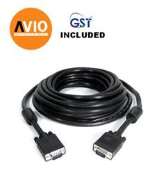 AVIO RGB30MM 30 meter RGB VGA Cable with 2 - core Male - Male