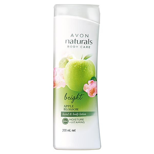 AVON Naturals Hand & Body Lotion Bright Apple Blossom