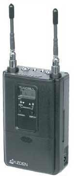 AZDEN 330UPR UHF dual channel on-camera receiver