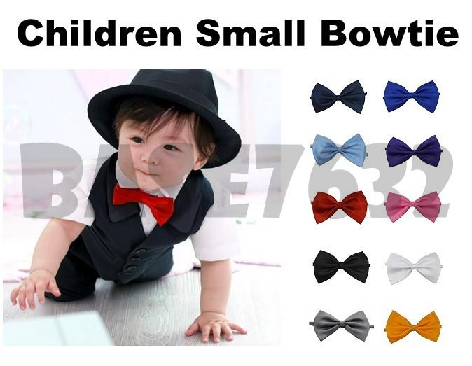 Baby  Kid Children Boy Girl Adjustable Bowtie Bow Tie Necktie Neck tie