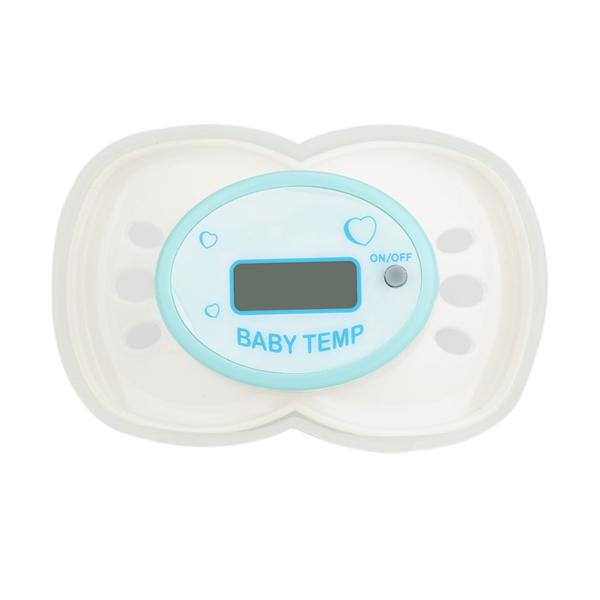 Baby Nipple Mouth Baby's Thermometer LCD Digital Pacifier-Thermometer