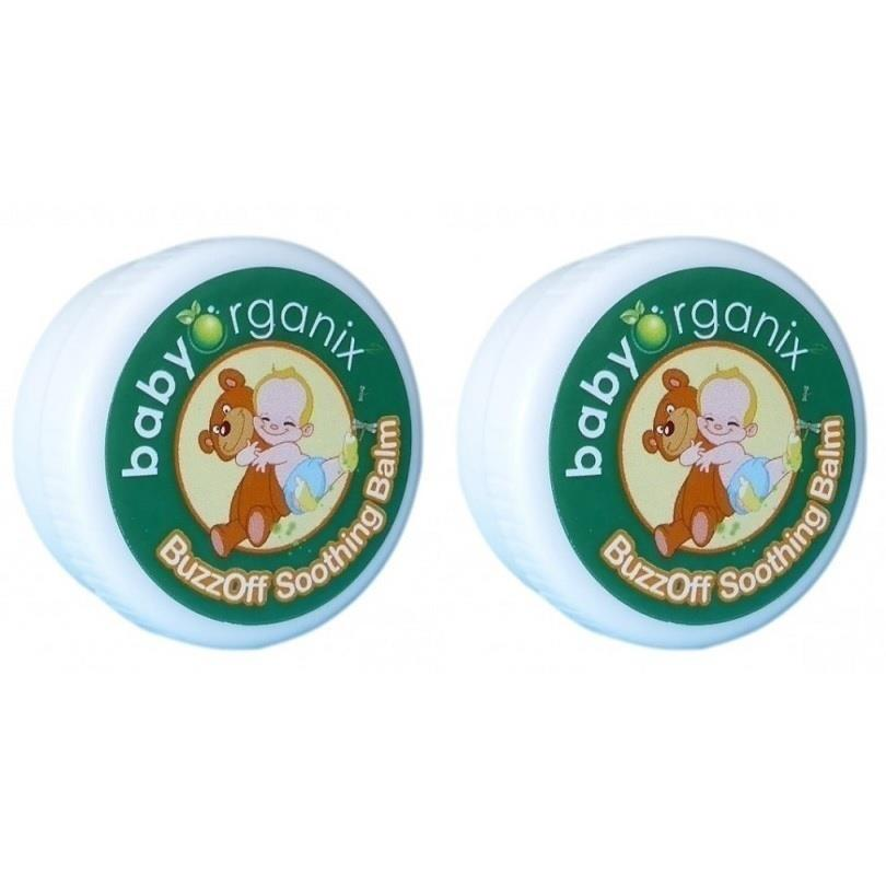 Baby Organix:BuzzOff After Bite Balm(20g)*Twin Pack