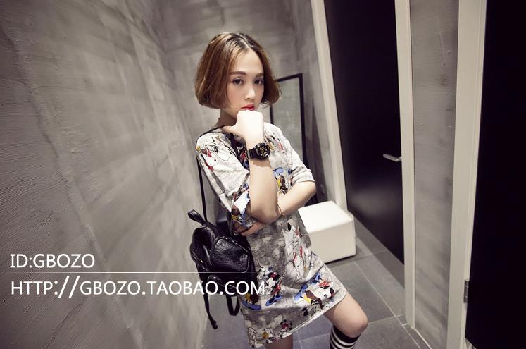 [BabyV] Women_Dress_Fashion_Korean_Shirt #20553 - CHEAP SELLING