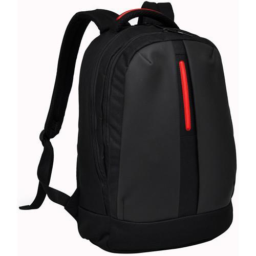 BAGMAN S02-157LAP-03 LAPTOP BACKPACK - BLACK RED