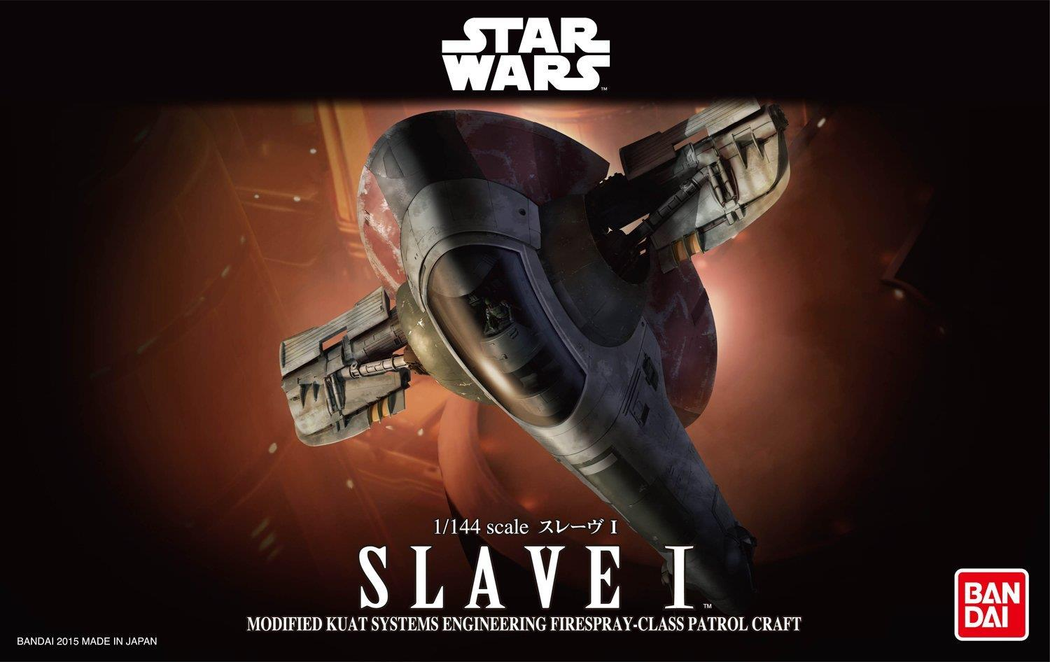 Bandai Star Wars Slave I  1/144 Scale Model