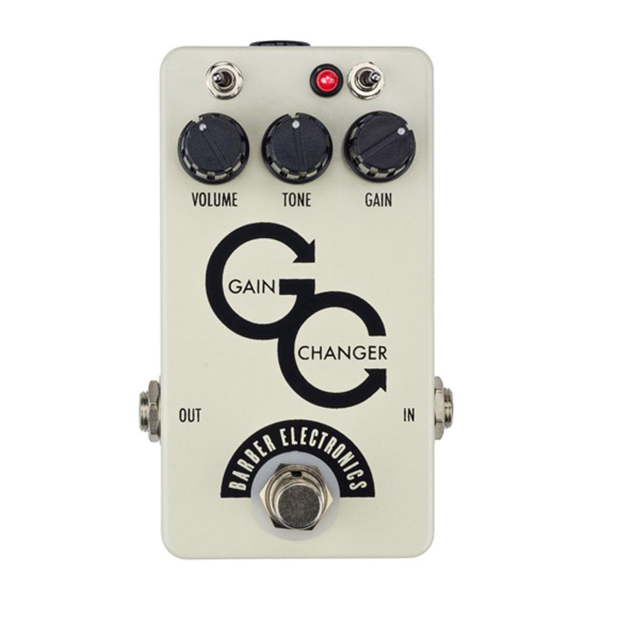 BARBER GAIN CHANGER OVERDRIVE EFFECT PEDAL