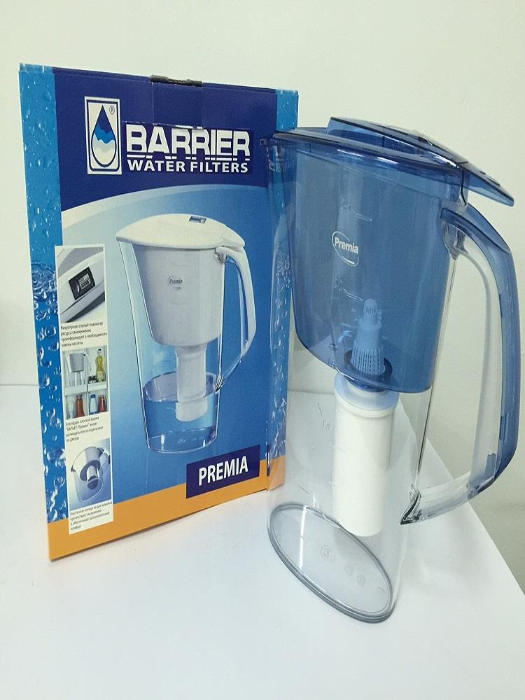 Barrier Premia Water Filter Jug Blue (with microprocessor)
