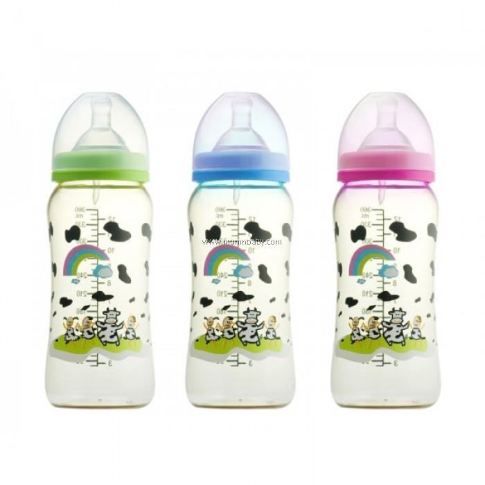 Basilic PES Wide-Neck Feeding Bottle 360ml