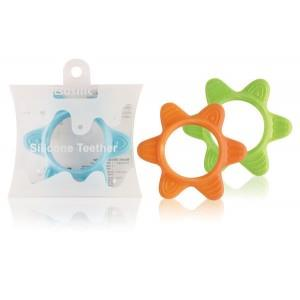 Basilic Silicone Teething Ring - Star