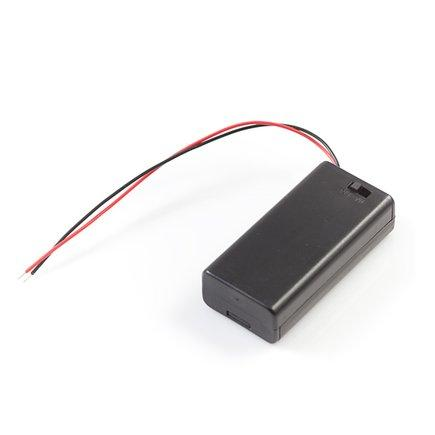 Battery Holder for 2 X AA Battery with ON-OFF Switch