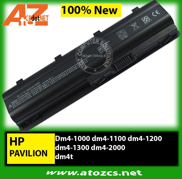 Battery HP Pavilion Dm4-1000 dm4-1100 dm4-1200 dm4-1300 dm4-2000 dm4t