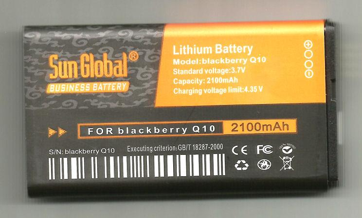 *bdl* -- Sun Global Battery BlackBerry Q10  ^^