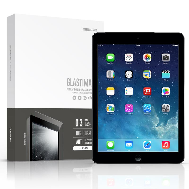 Bdotcom = Apple iPad Air 2 Siege Glastimate Premium Tempered Glass