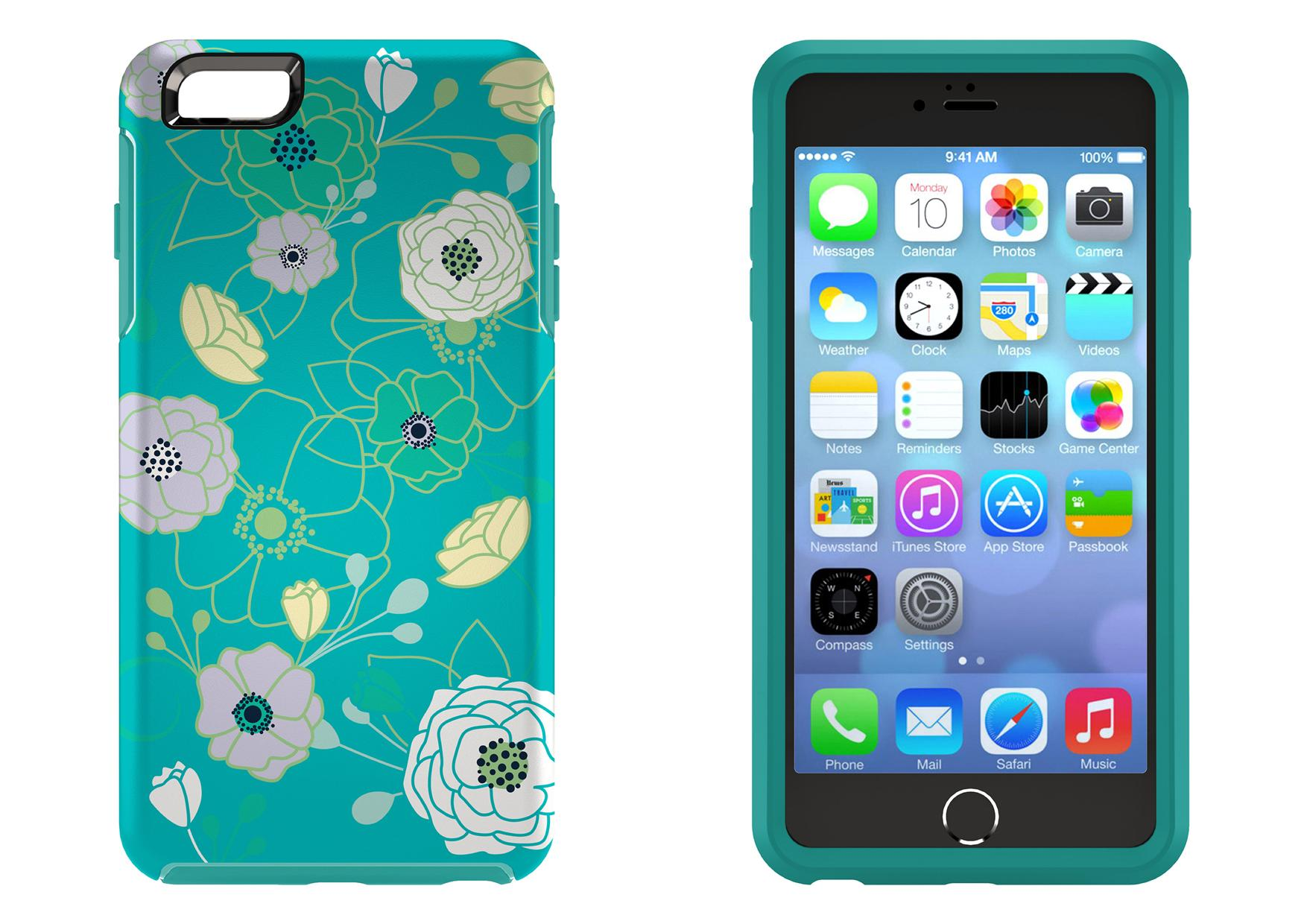 Bdotcom = Apple iPhone 6s Plus 5.5 Otterbox Symmetry Series Eden Teal