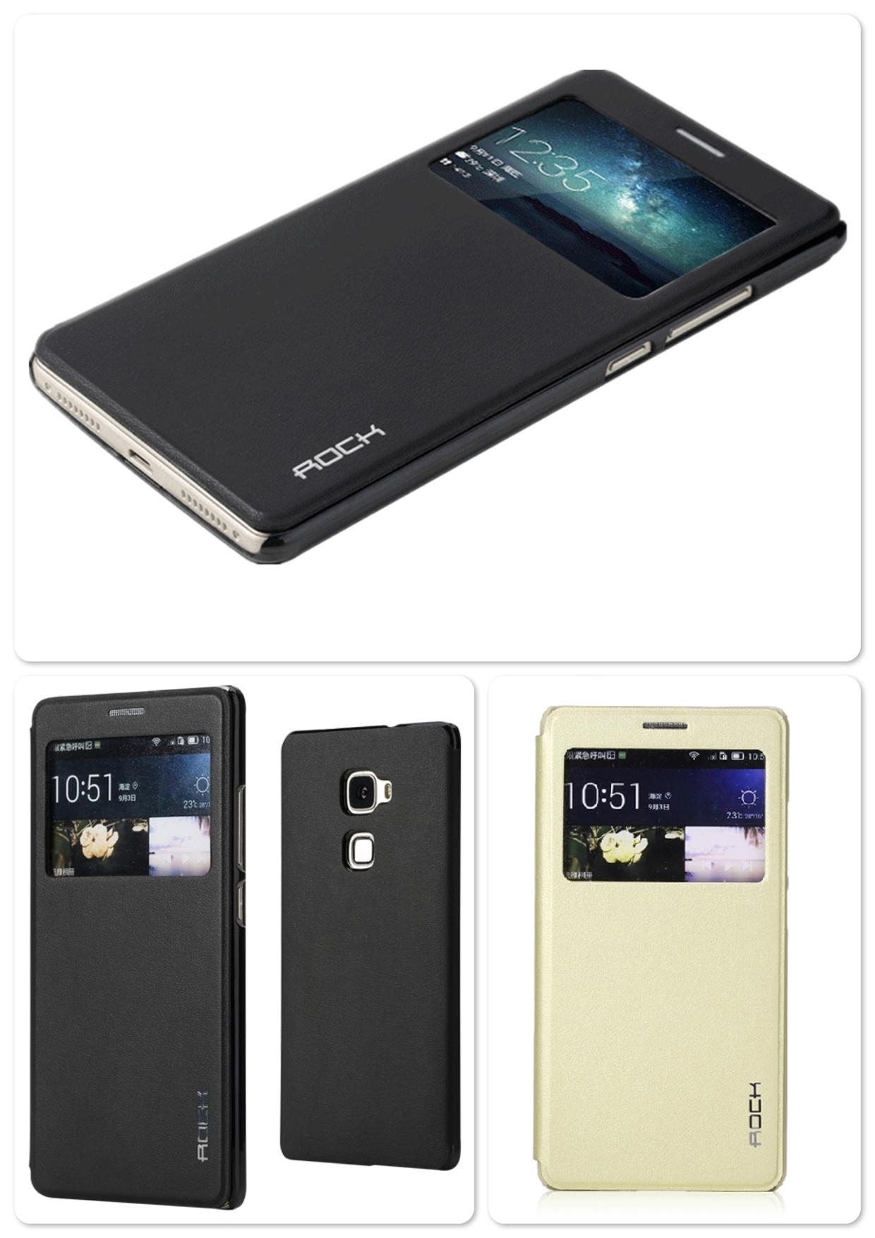 Bdotcom = Huawei Mate S Rock Touch series S View Case