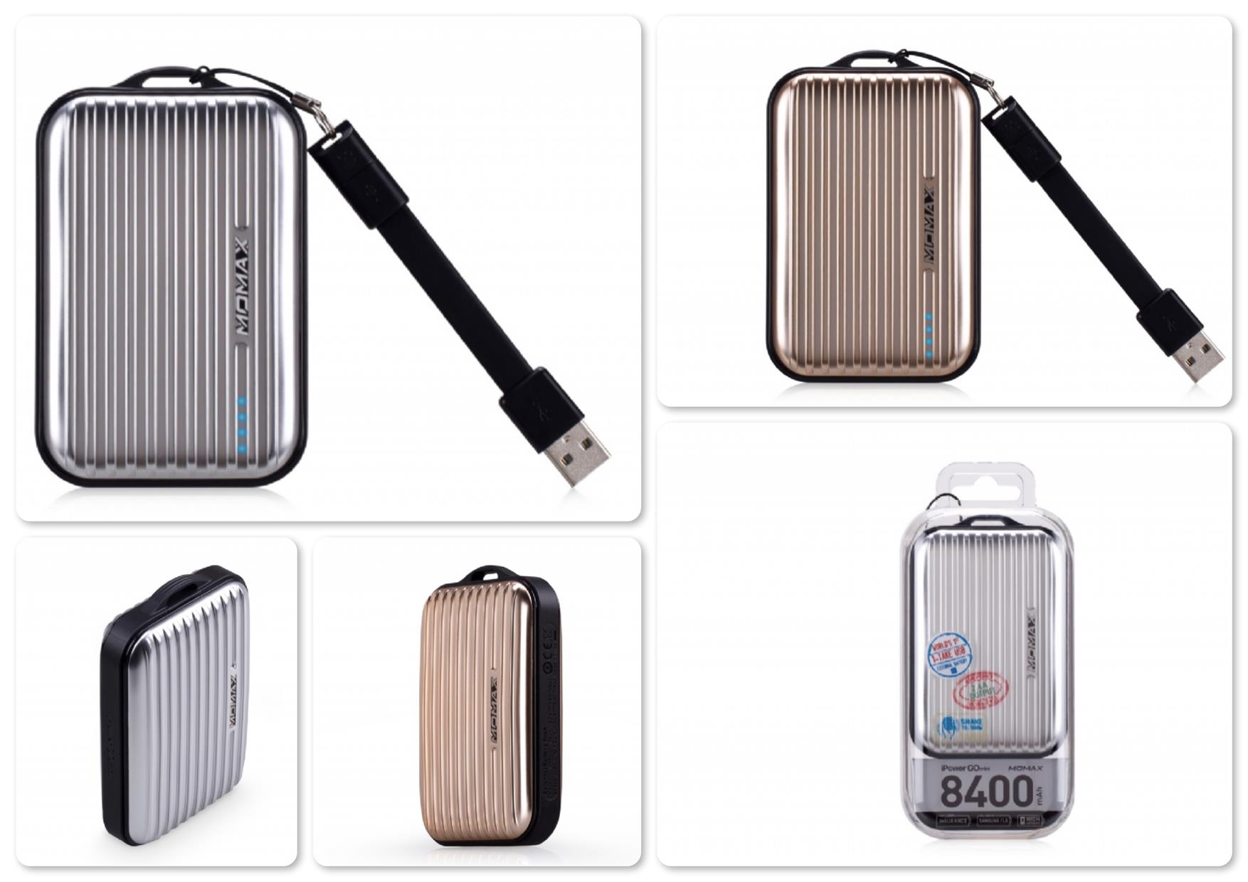 Bdotcom = Momax iPower Go Mini DownTown 8400 mAh Power Bank