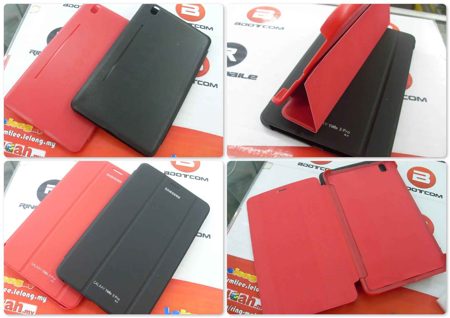 Bdotcom = Samsng Galaxy Tab PRO 8.4 Book Cover Case with Stand