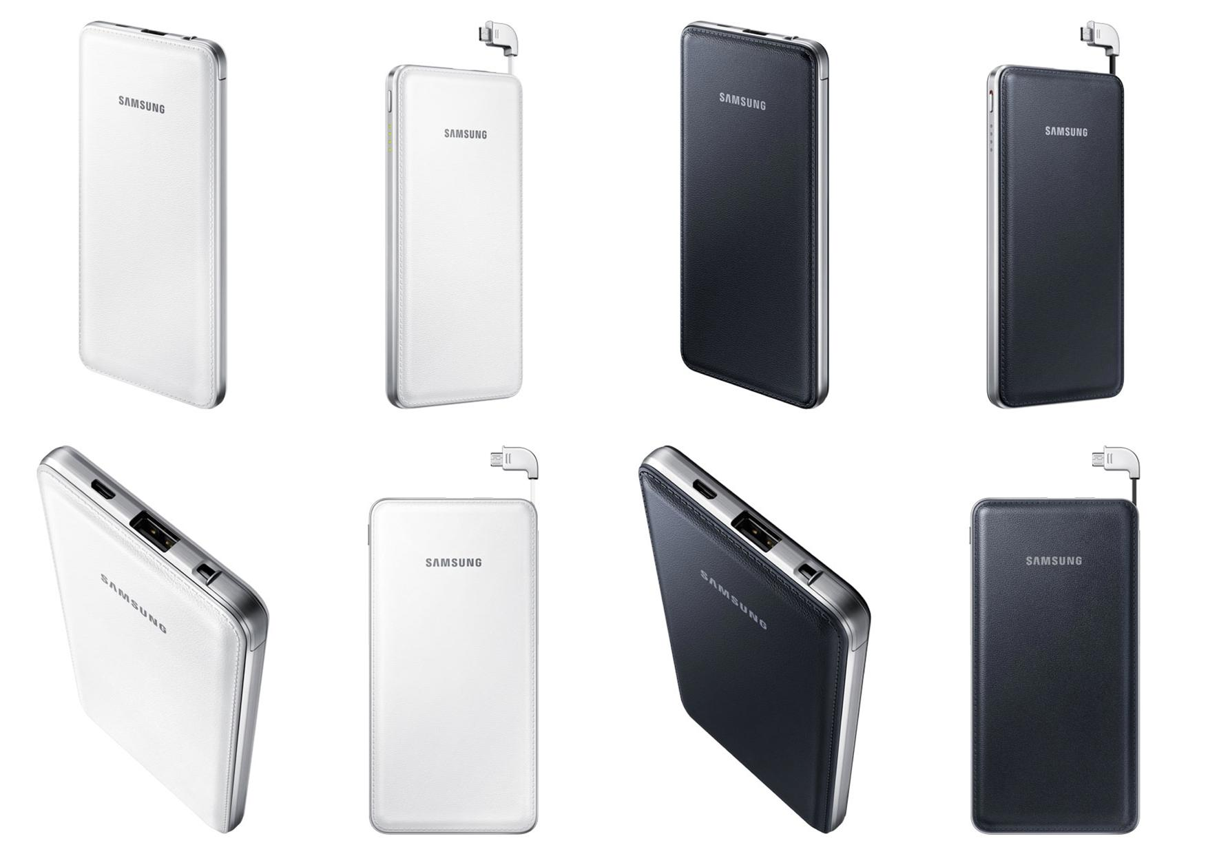 Bdotcom = Samsung Dual Charging Battery Pack 9500 mAh Power Bank