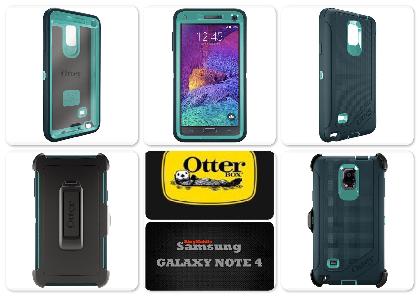 Bdotcom = Samsung Galaxy Note 4 Otterbox Defender Series = OASIS