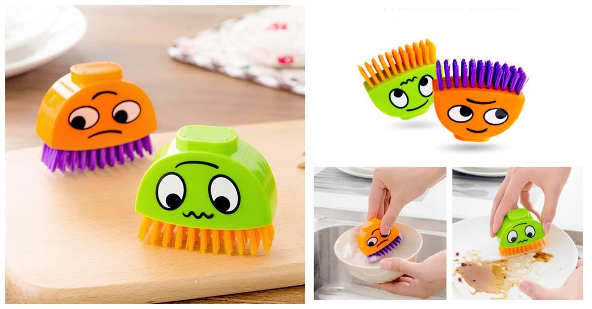 BE0031 COLOURFUL EMOTION CLEANING BRUSH