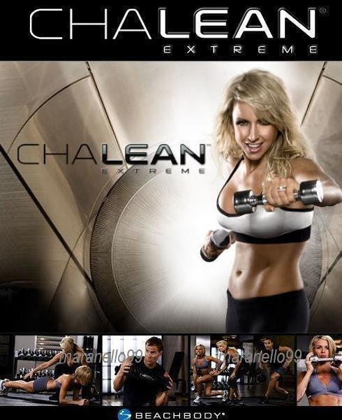 BeachBody:ChaLEAN EXTREME Workout 4DVDs Program:Burn Fat, Get Lean Now