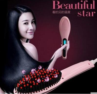 Beautiful Star Beauty Star Electric Hair Straighten Straight Hair Comb
