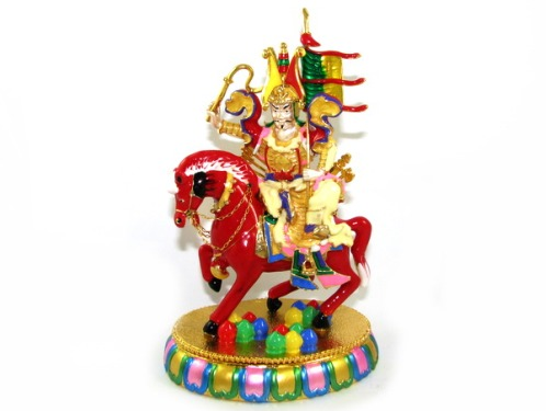 Bejewelled King Gesar Of Ling for Success in your Aspirations Lung Ta