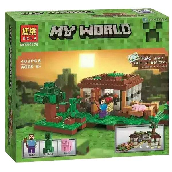 Bela 10176 my world minecraft boot end 5 25 2016 5 06 pm for Lego world craft