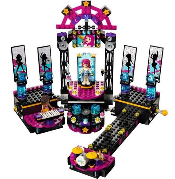 BELA 10406 Friends Singer Stage Blocks Puzzle Compatible With LEGO