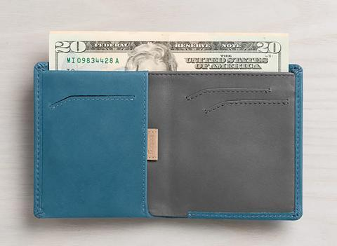 BELLROY NOTE SLEEVE - ARTIC BLUE
