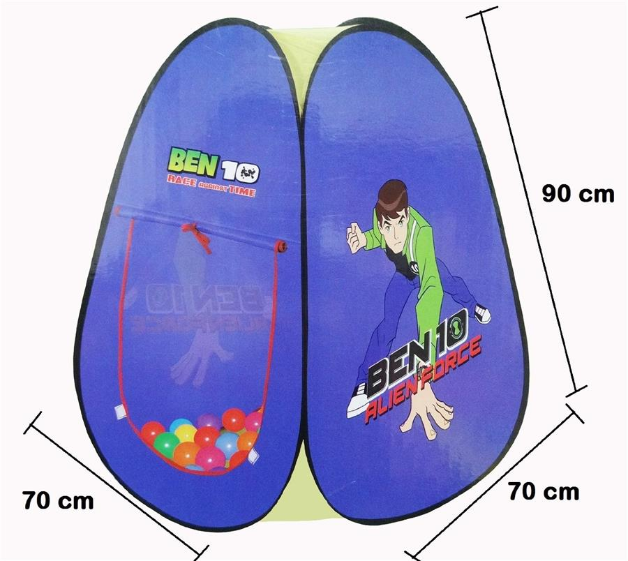 BEN 10 TENT WITH BALL